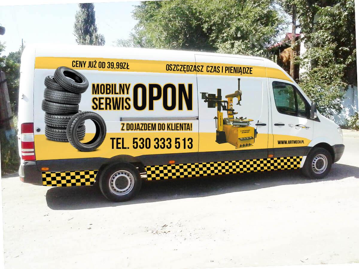 Mobilny serwis opon